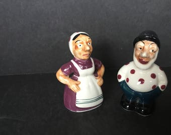 Enesco Imports Japan Old Couple Shakers