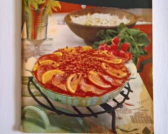Good Housekeeping's Casserole Cook Book --- Vintage 1950's American Style Cookbook --- Yummy Cooking Baking Chef Housewarming Family Dinner