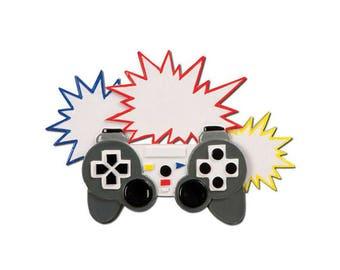 FREE SHIPPING Video Gamer Personalized Christmas Ornament / Video Game Ornament / Video Game Controller / Gamer Girl / Gamer Ornament