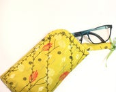 Sunglass Case, Glasses Case, CELLPHONE CASE, Special Gift, Thank you Gift, QUILTED Case, Handmade Case, Fabric Quilted Case, Free shipping