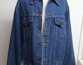 Vintage denim jacket large
