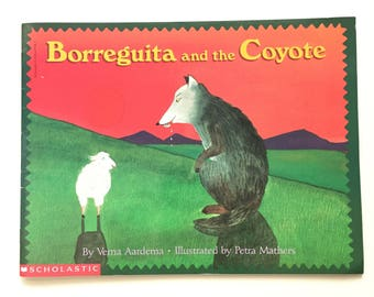 Borreguita and the Coyote by Verna Aardema / Vintage Children's Book / Reading Rainbow Book / Mexican Tale / 1994