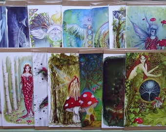 Pack of 2 A5 Art Cards ~ Choice from 15 designs