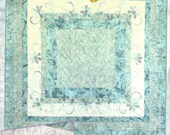 Crabapple Hill Studio - Windflowers - Batik Quilting Sewing Pattern - Meg Hawkey Designer
