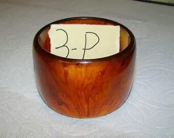 BB #3-P Vintage Bakelite Bracelet