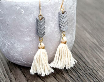Noble tassels earrings