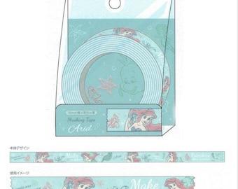 Disney Princess Washi Tape - Little Mermaid Ariel Paper Masking Tape 15mm ×5m
