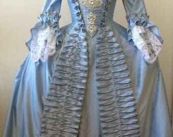 CUSTOM Rococo Rhinestone WEDDING or MASQUERADE gown