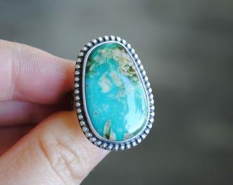 Royston Turquoise Ring, Size 5.5, Royston Turquoise Jewelry
