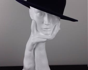 Chic fedora hat suitable for winter race events such as Cheltenham Races or for smart formal wear
