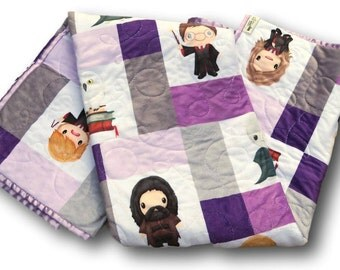 Harry Potter Baby * Personalized Baby Blanket * Harry Potter Baby Quilt * Harry Potter Quilt * Harry Potter Bedding * Harry Potter Blanket