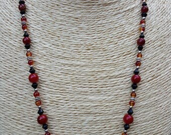 Fiery Nights Necklace