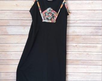 Festival Fun! Vintage 70's Peasant/Hippie Dresss Size 9 (Small)