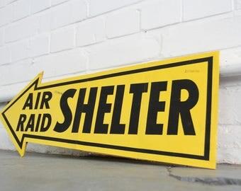 Air Raid Shelter Printers Proof Circa 1940s
