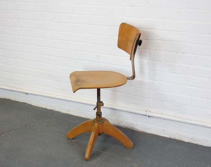 German Draughtsmans Chair By Bohler Circa 1930s