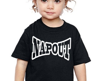 NAPOUT toddler t-shirt makes a perfect gift! UFC Fans! Customize for the perfect gift!