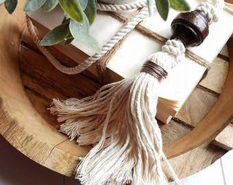 Wood Bead Loop Garland - Bead Garland - Farmhouse Decor - Farmhouse - Garland - Wood Beads - BoHo - Little Miss Neutral - FREE SHIPPING