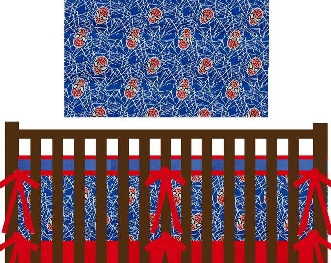 Superhero Baby Bedding--Custom Crib Bedding