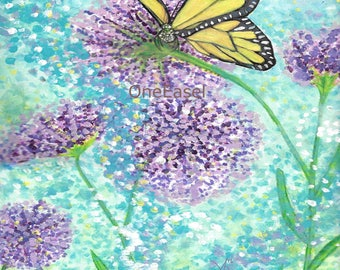 Summer Butterfly Photo Print
