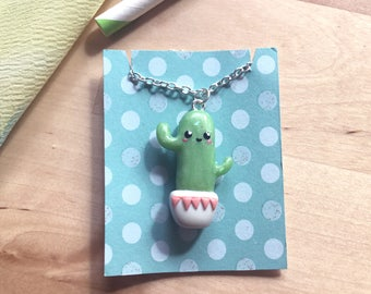 Strong Cactus Necklace