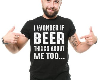 Beer Drinker T-Shirt Funny Beer Alcohol Funny Drinking Party Tee Shirt