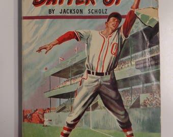 Batter Up by Jackson Scholz Comet Books #2 1948 Vintage Kids Paperback