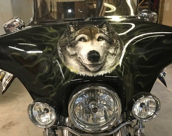 Wolf motorcycle fairing, motorcycle, fairings, harley, motorcycle fairing, wolf, motorcycle accessories