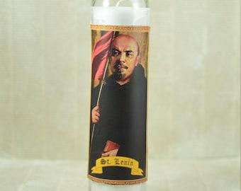 Vladimir Lenin Prayer Candle - Communist Revolutionary Saint Candle - Communism - Political Gift - Russian Revolution - Russian Republic