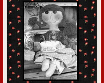 "E-Pattern Primitive 28"" Rag Doll Pattern 01"