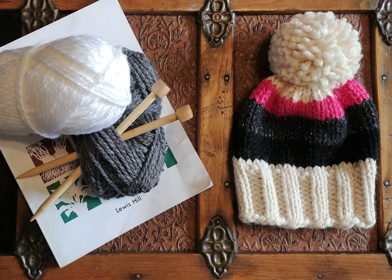 806b80210ed Hand knit hats Wool knit hat Hats for kids Knit winter hats