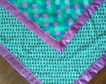 Follow Your Aarow Under the Sea Baby Blanket