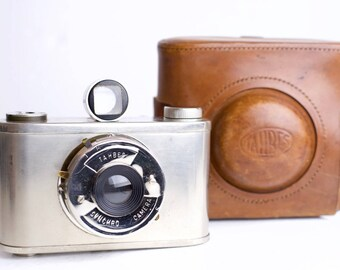 Tahbes Synchro Medium Format 120 Film Camera - Rare Camera from The Netherlands
