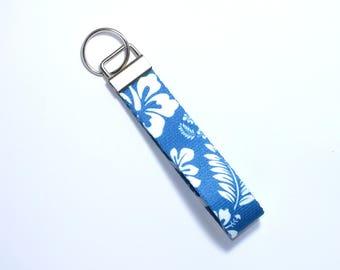 Blue Hawaiian Key fob, key ring