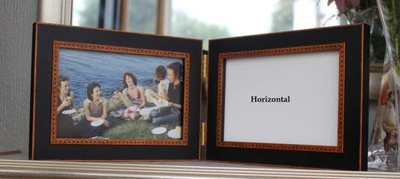 Last One, Folding Frame, Black & Rust, Polka Dots, Classic ...