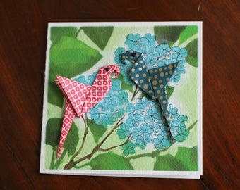 Origami Artisan Greetings Cards - Suitable for all Occasions - Birthday, Best Wishes, Congratulations, Good Luck,