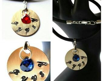 Crystal Gypsy Necklace - Boho Necklace - Inspirational Necklace - Swarovski Crystal - Wanderlust Necklace - Inspirational Necklace