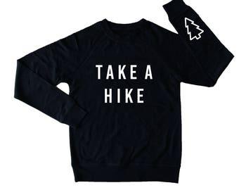 Take A Hike Crew Neck