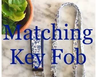 Matching Key Fob For Your Lanyard- Completely Customizable