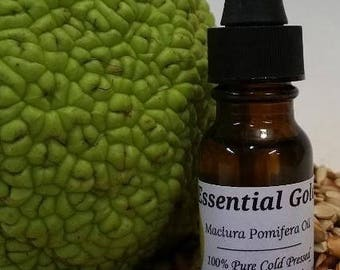 25 Percent Off Introductary Special Offer!!!  Maclura Pomifera Essential Gold Oil 100% Pure Cold Pressed Osage Orange Seed Oil 15 ml