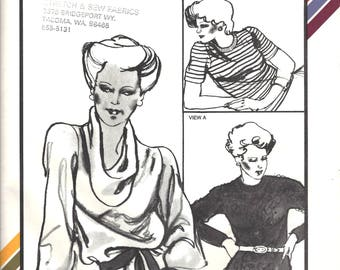 Stretch & Sew 311 Sewing Pattern for Queen T-Shirts sz 46 Thru 56 Uncut