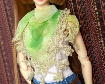 Lacy Scarves for Minifee, MSD BJD, Luts Kid Delf [Color Choice]