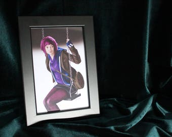 Ramona flowers inspired art print (WITH FRAME)