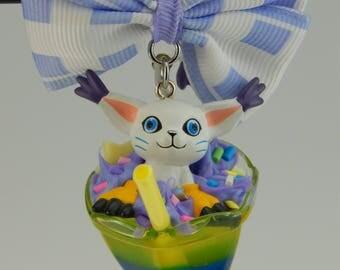 Digimon Gatomon Cocktail Chain
