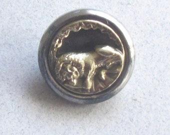 Lion Of Lucerne Button
