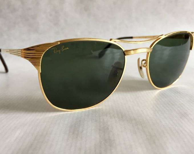 Ray-Ban Signet by Bausch & Lomb Vintage Sunglasses New Old Stock including Case