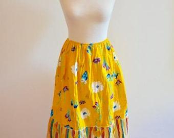Pencil skirt, saree skirt, floral skirt, skirt Bohemian, ethnic boho skirt, skirt, summer skirt
