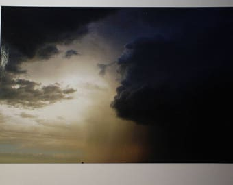Storm monster cloud Southwest Card new mexico  greeting card by Erinsong postcard