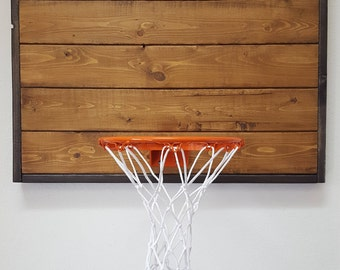 Modern Wood Basketball Hoop. Wall Mounted Basketball Hoop. Kid's Basketball. Basketball Hoop. Basketball Gift. Office Basketball. Wall Mount