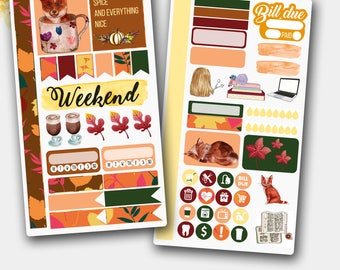 Ochre Fall and Fox Personal Size Kit