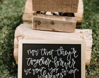 Custom Chalkboard (Small)